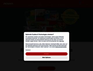 penny.de screenshot