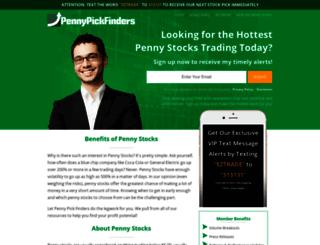 pennypickfinders.com screenshot