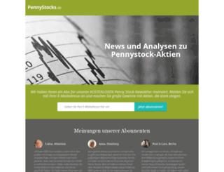 pennystocks.de screenshot