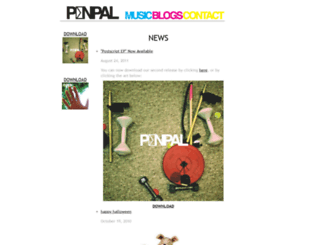 penpalmusic.com screenshot