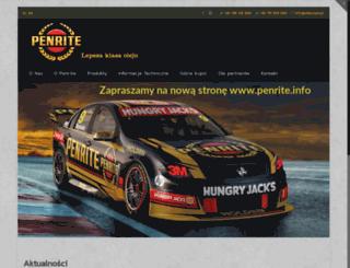penrite.pl screenshot