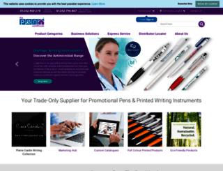 pens.co.uk screenshot