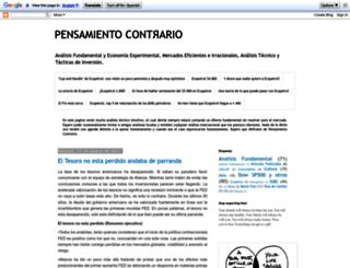 pensamientocontrario.blogspot.com screenshot