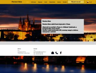 pensionbeta.cz screenshot