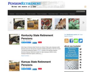 pensionretirement.com screenshot