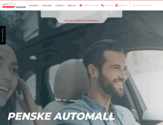 penskeautomall.com screenshot