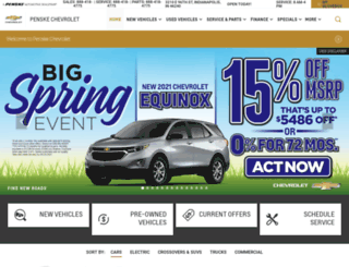 penskechevy.com screenshot