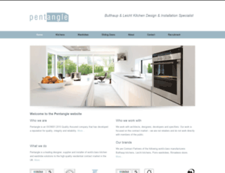 pentanglefurniture.co.uk screenshot