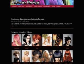 penteados.pt screenshot