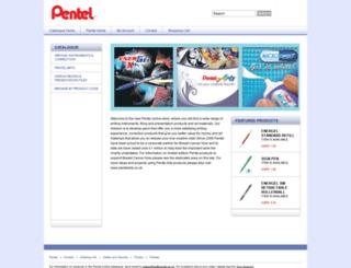 pentelshop.co.uk screenshot
