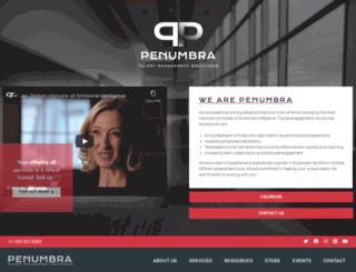 penumbra.com screenshot