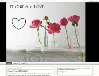 peoniesandlove.blogspot.com screenshot