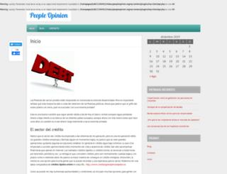 peopleopinion.org screenshot