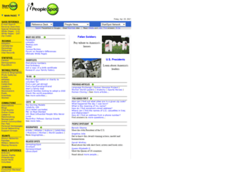 peoplespot.com screenshot