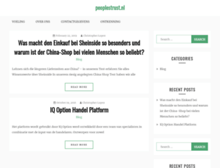 peoplestrust.nl screenshot