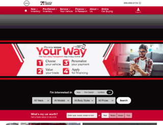 peorianissan.com screenshot
