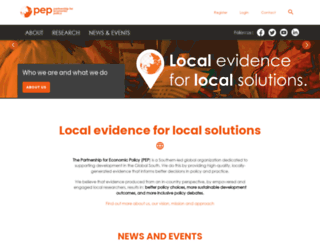 pep-net.org screenshot