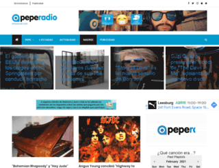 peperadio.es screenshot