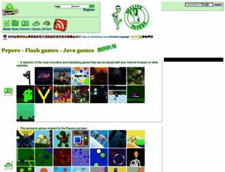 pepere.org screenshot