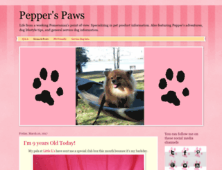 pepperpom.com screenshot