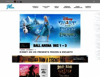 pepsicenter.com screenshot