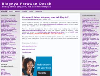 perawandesah.wordpress.com screenshot