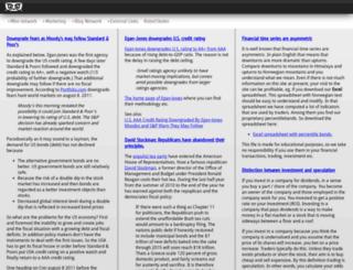 percentilebands.com screenshot
