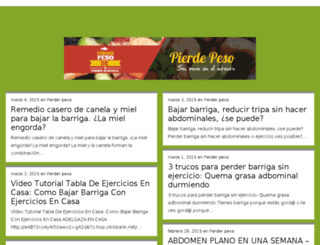 perderpesodeformanatural.com-tv.es screenshot