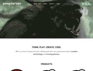 peregrinelabs.com screenshot