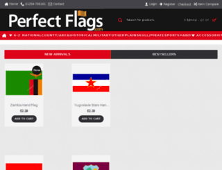 perfectflags.co.uk screenshot