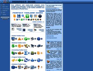 perfecticon.com screenshot