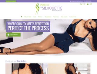 perfectmysilhouette.com screenshot