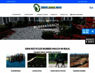 perfectrubbermulch.com screenshot