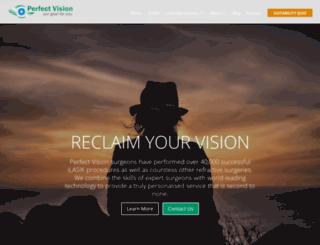 perfectvision.com.au screenshot