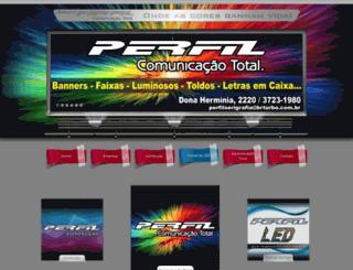 perfilcomunicacaototal.com.br screenshot