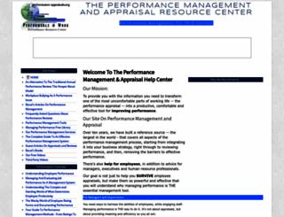 performance-appraisals.org screenshot