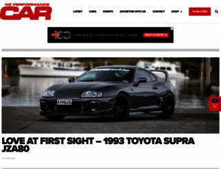 performancecar.co.nz screenshot