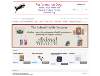 performancedog.co.za screenshot