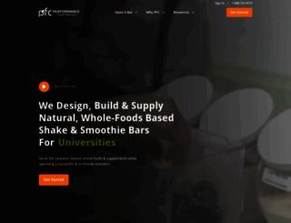 performancefoodcenters.com screenshot