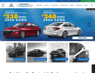 performancehondastore.com screenshot