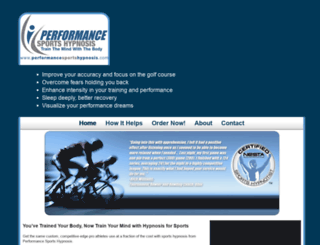 performancesportshypnosis.com screenshot