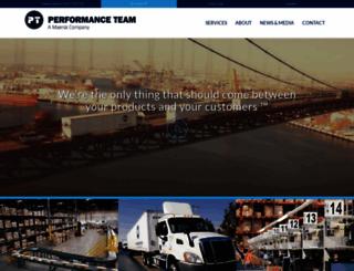 performanceteam.net screenshot
