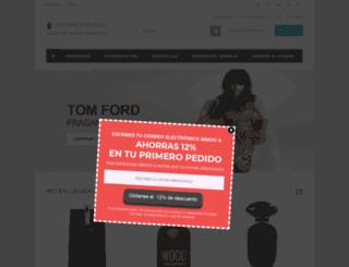 perfumeemporium.es screenshot