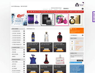 perfumehouseng.com screenshot