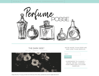 perfumeposse.com screenshot