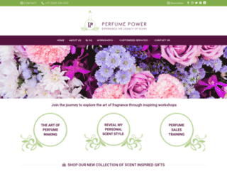 perfumepower.co.za screenshot