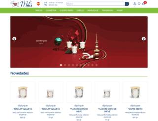 perfumeriamilu.com screenshot