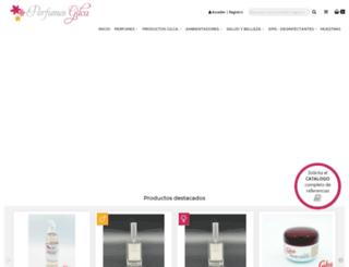 perfumesgilca.es screenshot