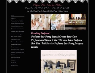perfumesoiree.com screenshot