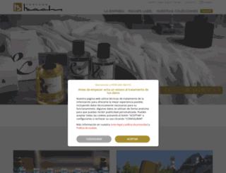 perfumsbachs.com screenshot
